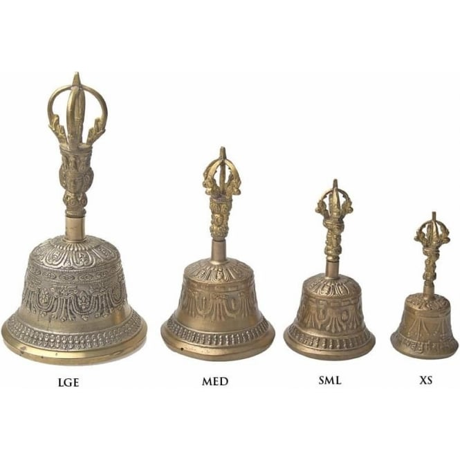 Tibetan Spirits Tibetan Durji Bell (LGE) 210mm (Mixed Designs sold individually)