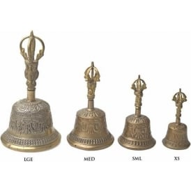 Tibetan Durji Bell (XS) 115mm (Mixed Designs sold individually)
