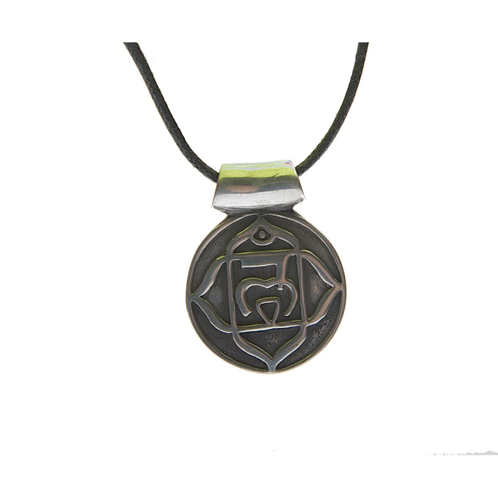 Tibetan spirits pewter the visudda or throat chakra pendant necklace pewter the visudda or throat chakra pendant necklace aloadofball Gallery