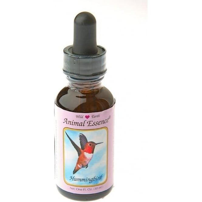 Wild Earth Hummingbird Essence (Dosage Bottle) Oral 30ml (Black Top)