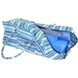 Yoga Kit Bag - Stripey Blue