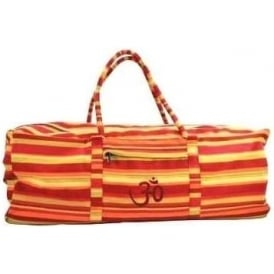Yoga Kit Bag - Stripey Red