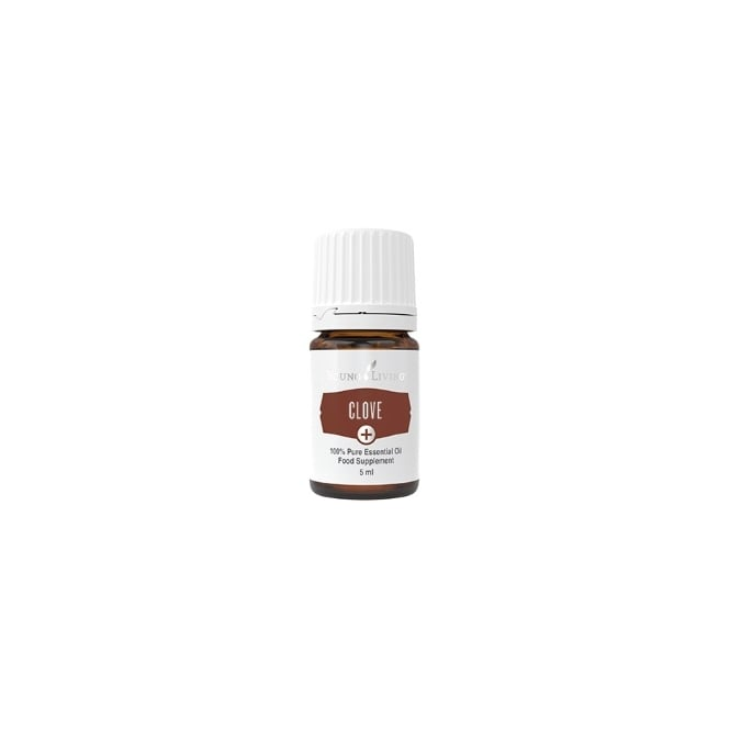 Young Living Clove Plus + Essential Oil - 5 ml (As A Food Supplement)