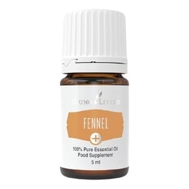 Young Living Fennel Plus + Essential Oil - 5 ml (As A Food Supplement)