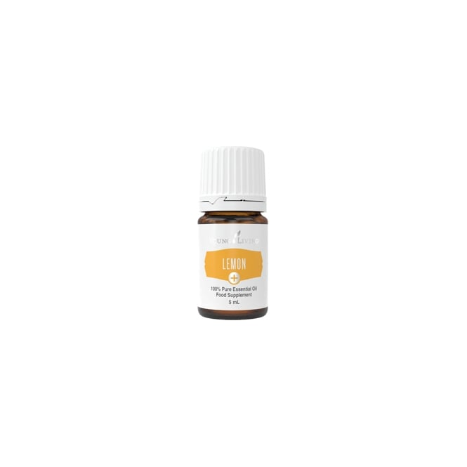 Young Living Lemon + Essential Oil - 5 ml (As A Food Supplement)