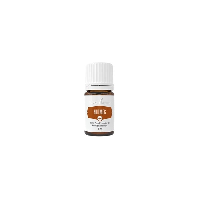 Young Living Nutmeg Plus + Essential Oil - 5 ml (As A Food Supplement)