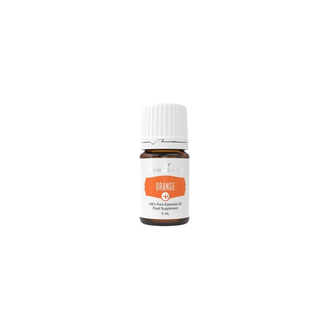 Young Living Orange + Essential Oil - 5 ml (As a Food Supplement)