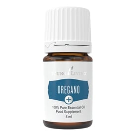 Young Living Oregano Plus + Essential Oil - 5 ml (As A Food Supplement)