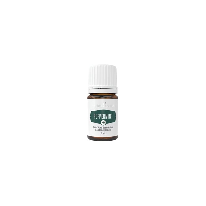 Young Living Peppermint + Essential Oil - 5 ml (As a Food Supplement)