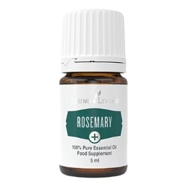 Young Living Rosemary Plus + Essential Oil - 5 ml (As A Food Supplement)